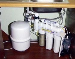 Установка фильтра очистки воды в Санкт-Петербурге, подключение фильтра очистки воды в г.Санкт-Петербург